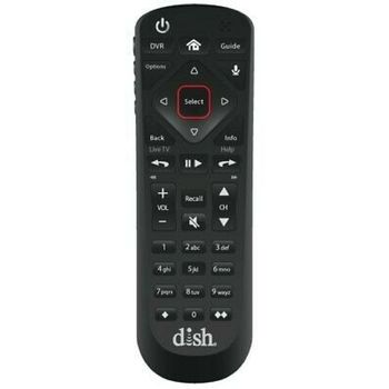 good quality original Dish Network 52.054.0 Voice Satellite Receiver Remote Control For Hoppers & Wally free sample tv accessory
