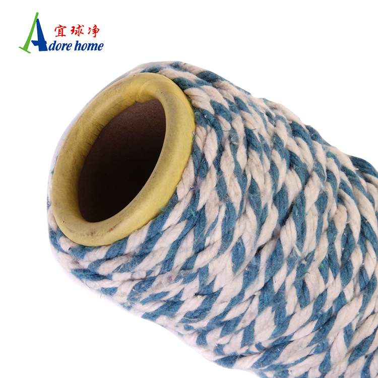 Customizable blended weaving cotton mop yarn for mop material
