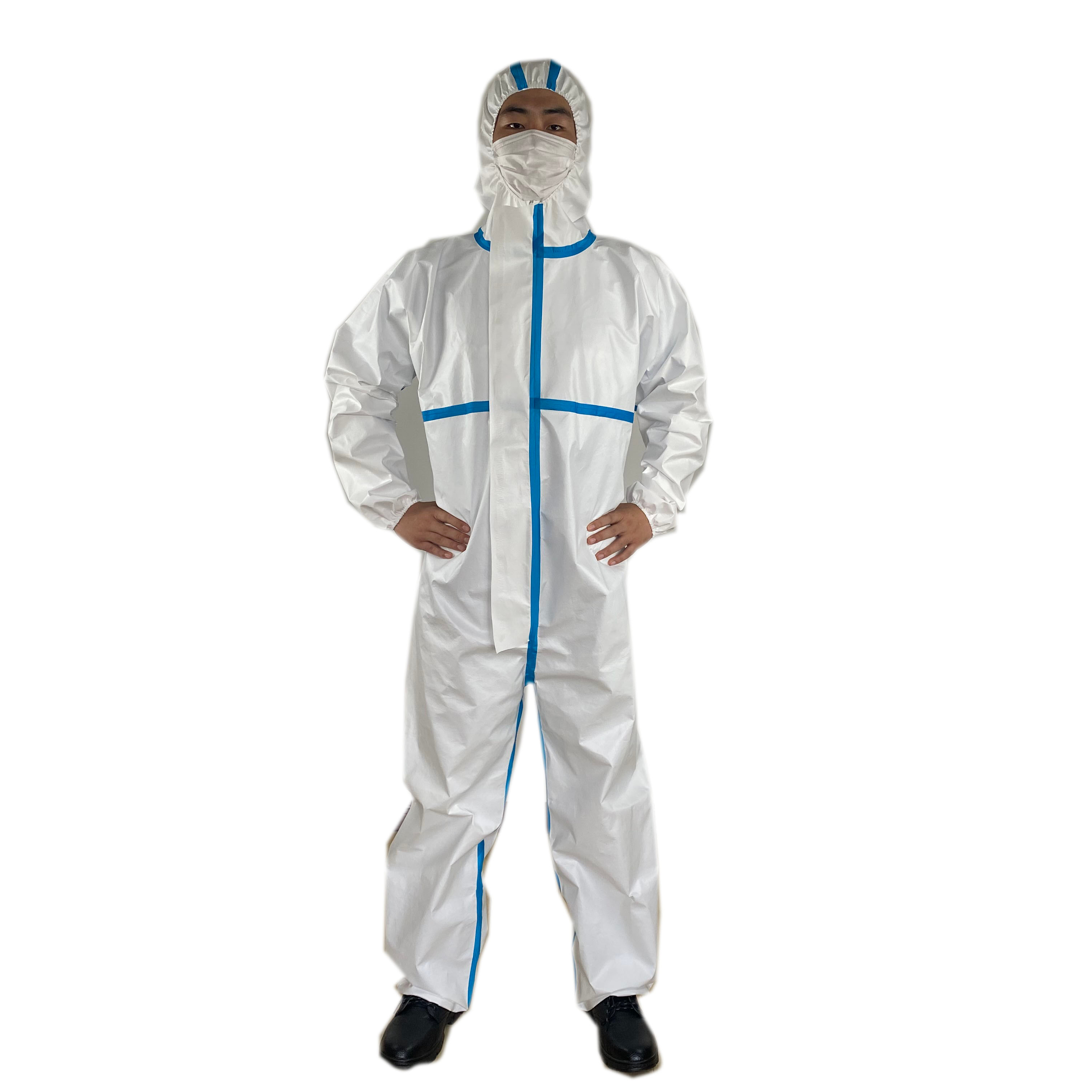 Safety Work Clothes For Construct Isolation Medical Disposable Garment Disposable Protective Coveralls Working Overalls - KingCare | KingCare.net