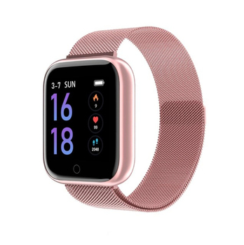 2020 Smart Watch Women Waterproof Smart Watch Men T80 Heart Rate Monitor Fitness Tracker For Apple IPhone Android