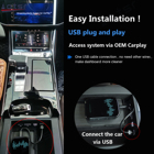 Car Player Carplay AI Box Android System Car Multimedia Player Video 4 32GB Wireless Mirror Link Auto Radio Upgrade Wifi BT