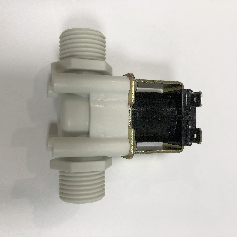 White Nylon Plastic 12v solenoid valve water DC12V G1/2 pipe size valve for water pump water solenoid valves