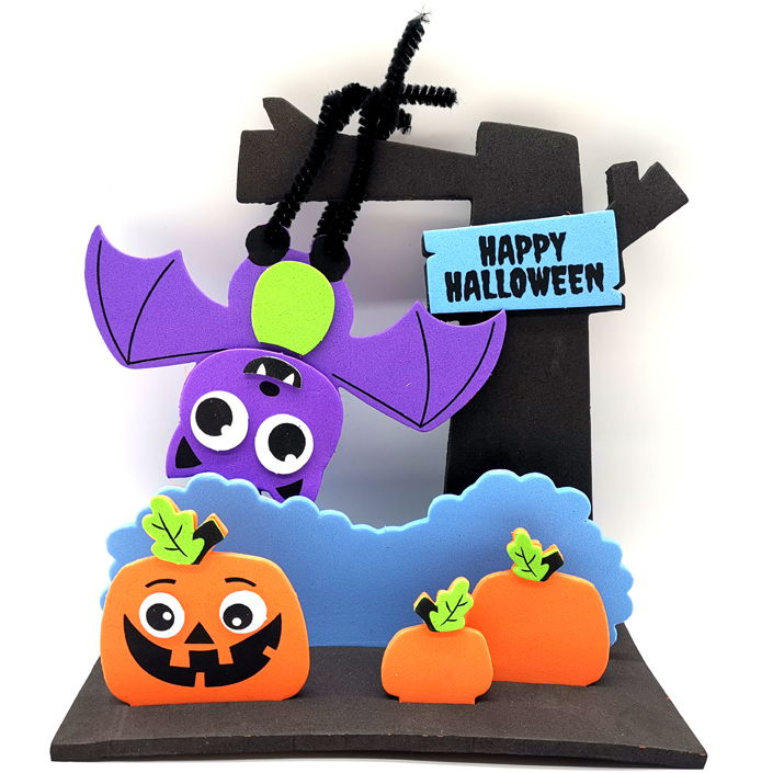 New Halloween Crafts.2020 New Design Kids Diy Foam Eva Happy Halloween Craft Kit Buy Kids Halloween Halloween Craft Kit Diy Halloween Product On Alibaba Com