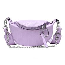Лидер продаж, многофункциональные сумки популярных цветов, модная поясная нагрудная сумка, Женский кошелек, кожаный наплечный ремень, сумк...(Китай)