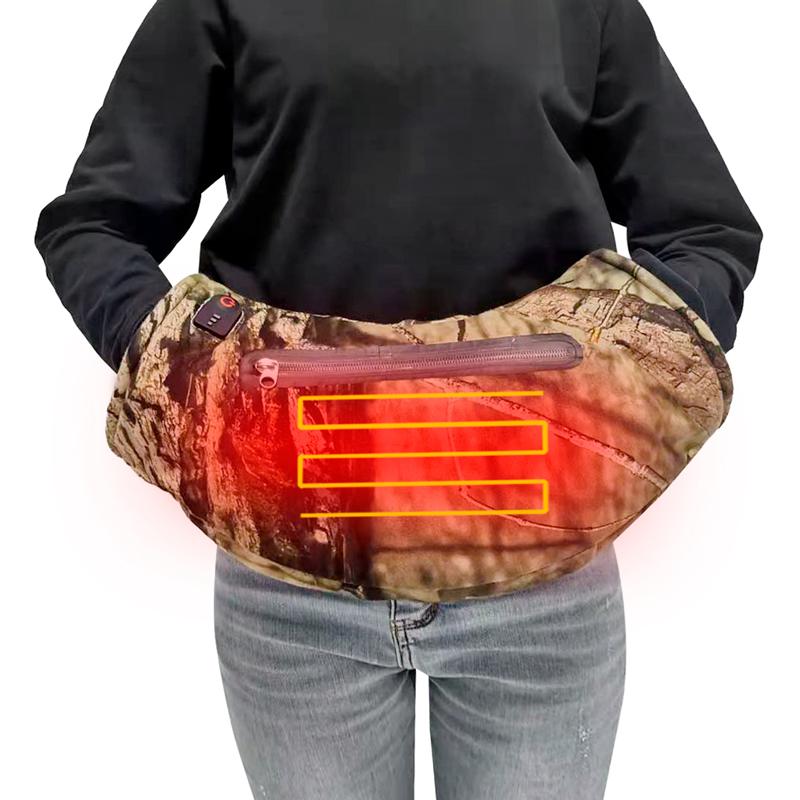 Ручная муфта для активного отдыха сохраняет тепло в холодную погоду