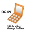 OG-09, 9 Hole shiny Orange Golden