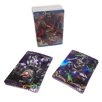 Custom Holographic Magic Japanese Pokemon Trading Game Cards