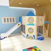 Blue rocket daycare loft for kids
