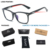 In Stock Quickly Delivery Custom Fashion Anti Blue Light Block Filter Computer Glasses