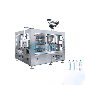 Automatic bottle water filling and capping machine mineral water plant