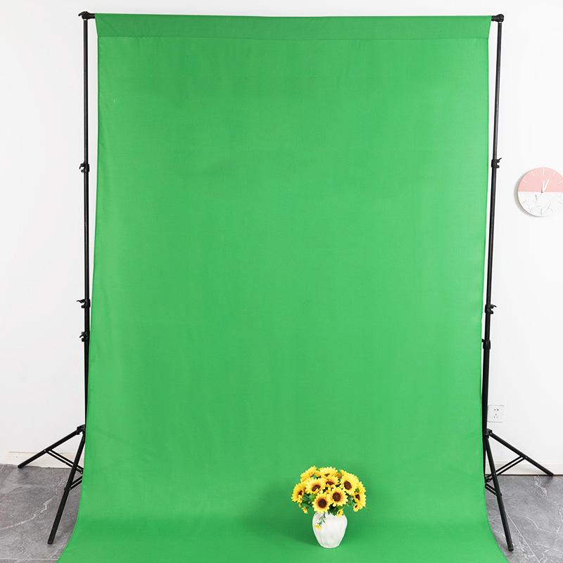 Однотонные фоны для фотосъемки из 100% полиэстера, зеленый экран, ткань для фотосъемки в фотостудии