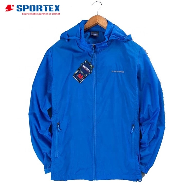 OEM windproof nylon windbreaker jacket, wind cheater jacket
