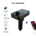 Car Mp3 Factory Direct DC5V 3.0A Charging Bluetooth Handsfree Car Kit MP3 U Disk Player Fm Transmitter With Car Charger