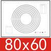 800*600*0,4mm negro