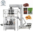 Doy Doy Bag Packing Machine Automatic Rotary Ziplock / Doy Paper Bag Filling Sealing Packing Machine For Food
