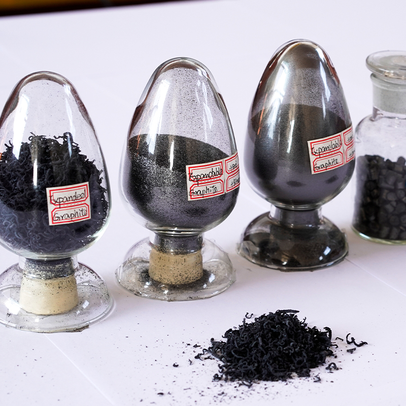 High Purity Expandable Graphite Powder 99% Refractory 50 Mesh Expandable Graphite Powderand 350 expansion volume