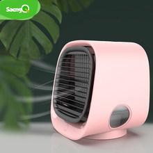 Портативный вентилятор saengQ, мини-вентилятор для кондиционера, увлажнители, вентиляторы воздушного охлаждения, USB кулер, настольный вентиля...(Китай)
