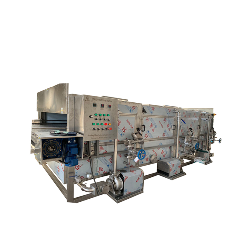 Water Bath Packaged / Bottled / Canned Food Pasteurization Machine