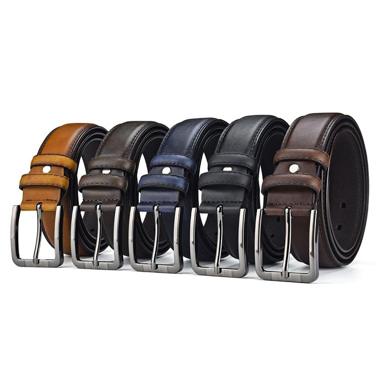Hot Selling Fashion Men Belt PU leather Man Belt Pin buckle High Quality Leather Belt for men