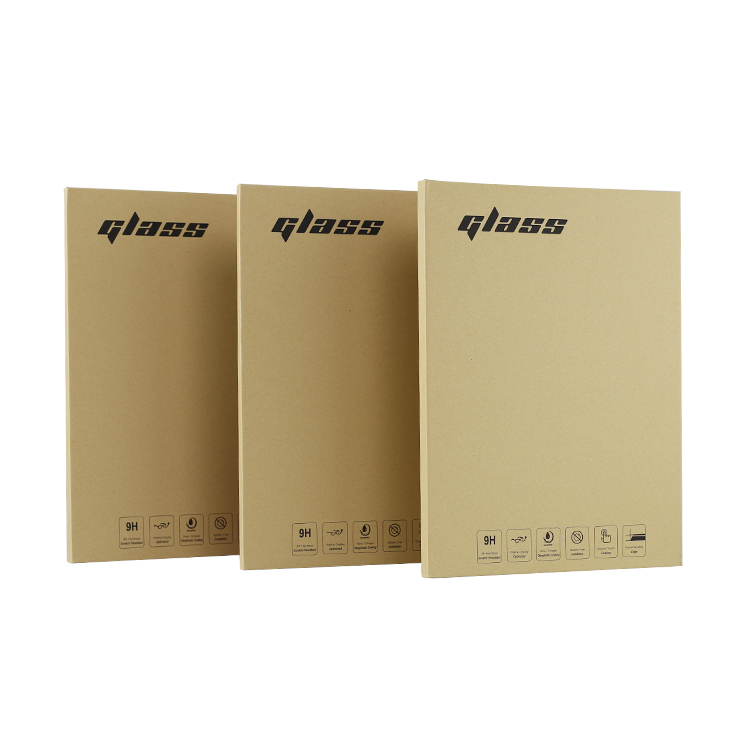 Deluxe paper box, used for iPad anti-blue light radiation glass film, explosion-proof toughened protective film packaging box,
