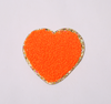 neon orange heart