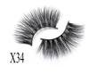 25mm mink lash--X34