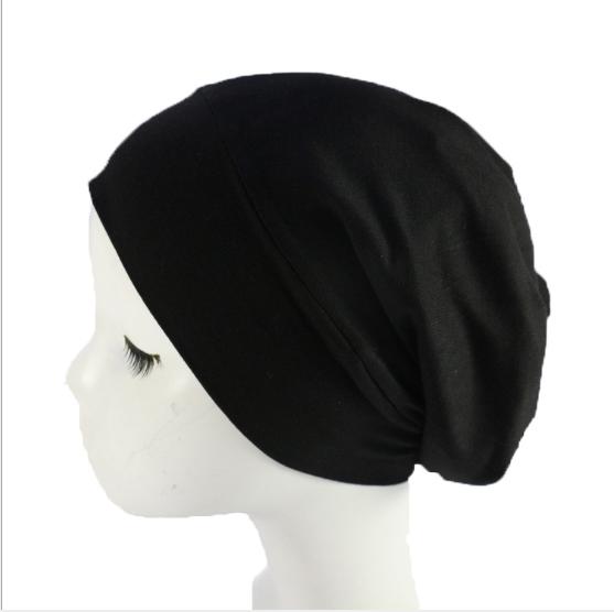 Amazon Popular Satin Silk Lined Sleep Cap Beanie Slap Hat For Women