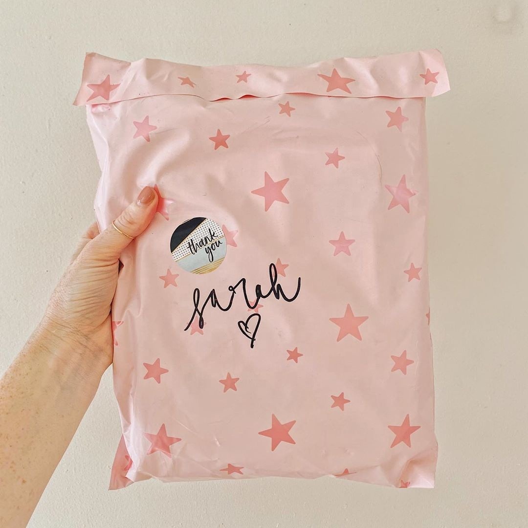 E Commerce Luxury Logos Printing Packaging Use Poly Postal Shipping Custom Clothing Poly Bags For Sale