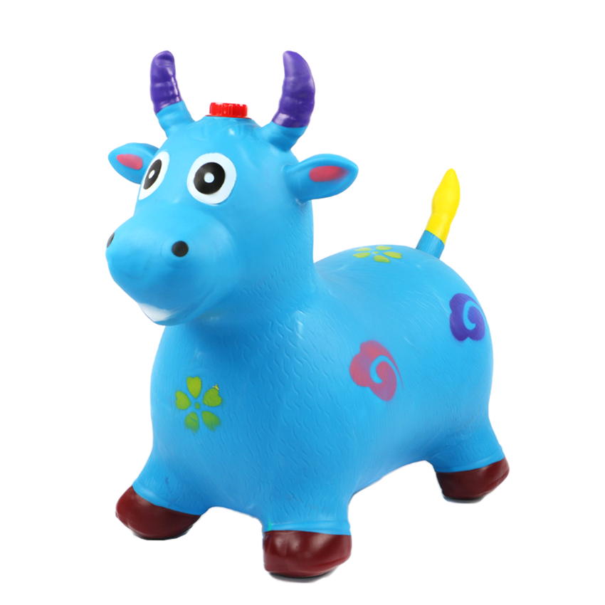 Wholesale fashionable beauty patterns Inflatable cartoon bouncing horse for children