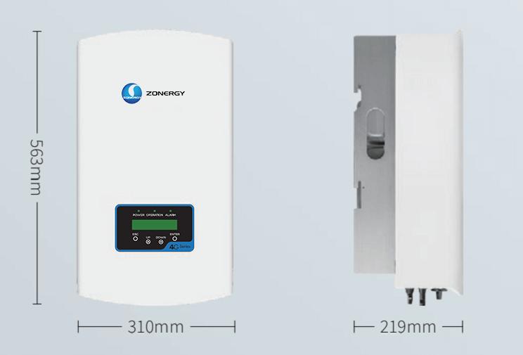 Oem 10kw Mono Fase Ongrid Wifi Monitoring Onduleur Charger Tie Mppt Inverter Power Invertor Pure Sine Wave Inverex Solar Grid