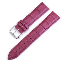 UTHAI Z11 новые часы браслет пояс Женские Ремешки для наручных часов ремешок из натуральной кожи ремешок для часов 10-24 мм многоцветные ремешки д...(Китай)