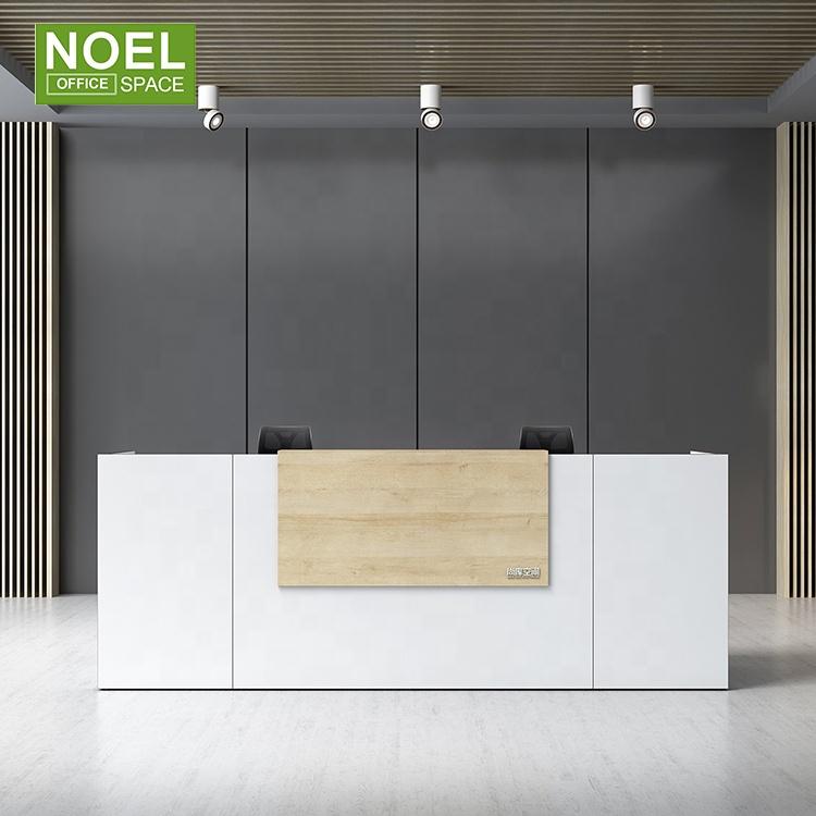 2021 современная деревянная прямоугольная стойка ресепшн Kadi из Китая, стойка ресепшн для салона