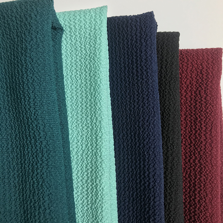 Hot sale factory direct custom polyester spandex fabric roll