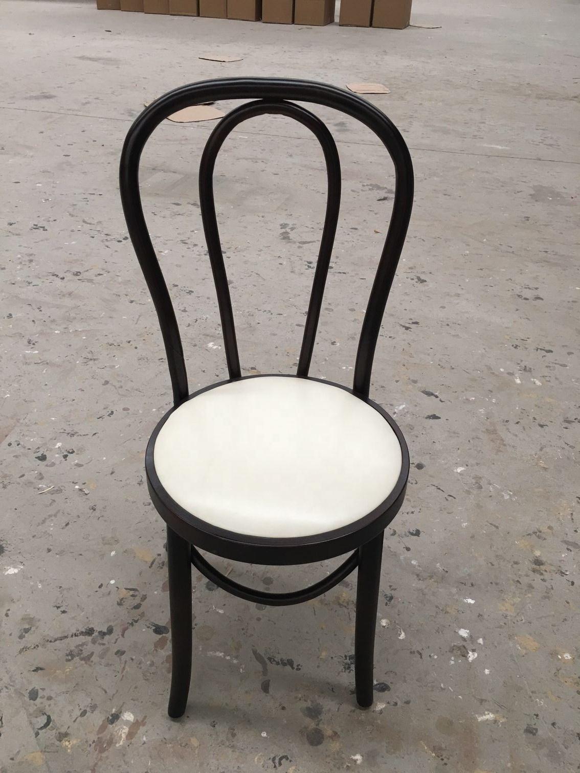 Современный модный стул из Bentwood Thonet, деревянные бутиковые стулья белого и синего цвета