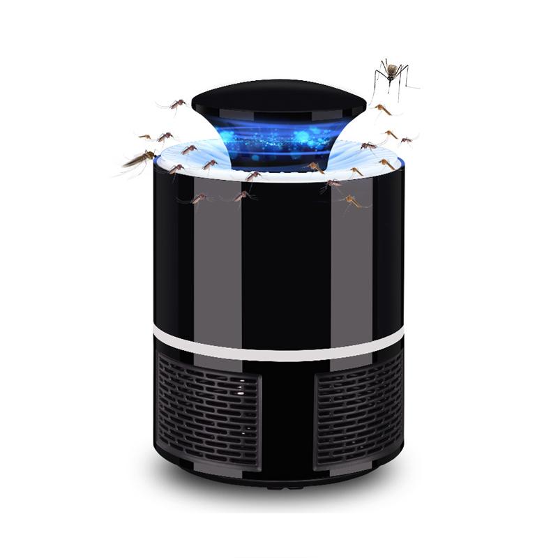 YJN5425 Крытый поражения электрическим током анти подзарядка через Usb, светодиодный комаров убийца ловушка лампа