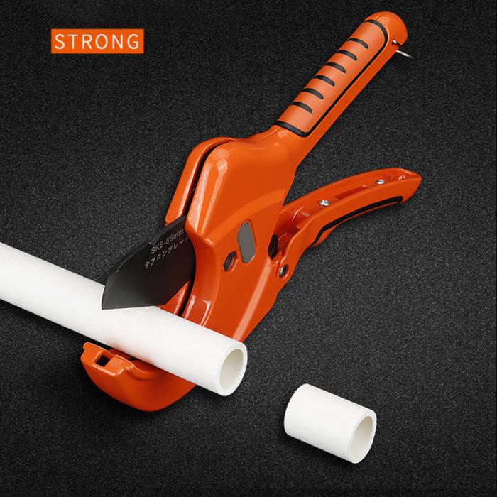 63 mm a cricchetto PVC Vinile TUBO DI PLASTICA TUBO Tubo Protettivo taglierina Idraulica Strumento