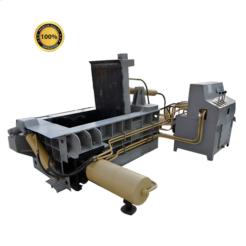 Dbk002 Y81 Hydraulic Used Scrap Metal Aluminum Cans Compactor Baler Machine For Sale