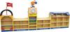 Cartoon theme storage unit for daycare