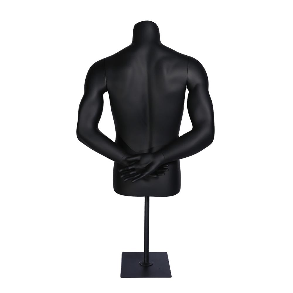 Недорогой мужской манекен для рук и спины
