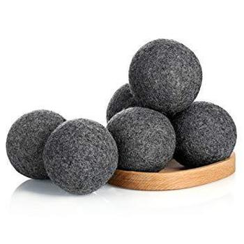 Natural 100% new zealand wool tumble dryer balls for cleaning dry