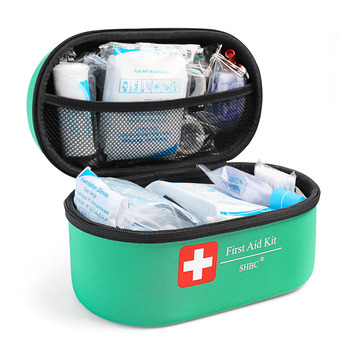 Factory Large Emergency First Aid Kit 250pcs Packaging With Roll Or Fold Sam Splint