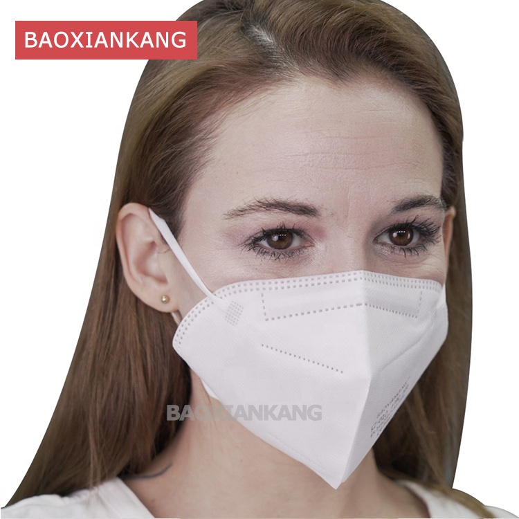 hot sale CE FFP2 NR EUA Respirators Non-woven dust Disposable Face Mask Earloop KN95 - KingCare | KingCare.net