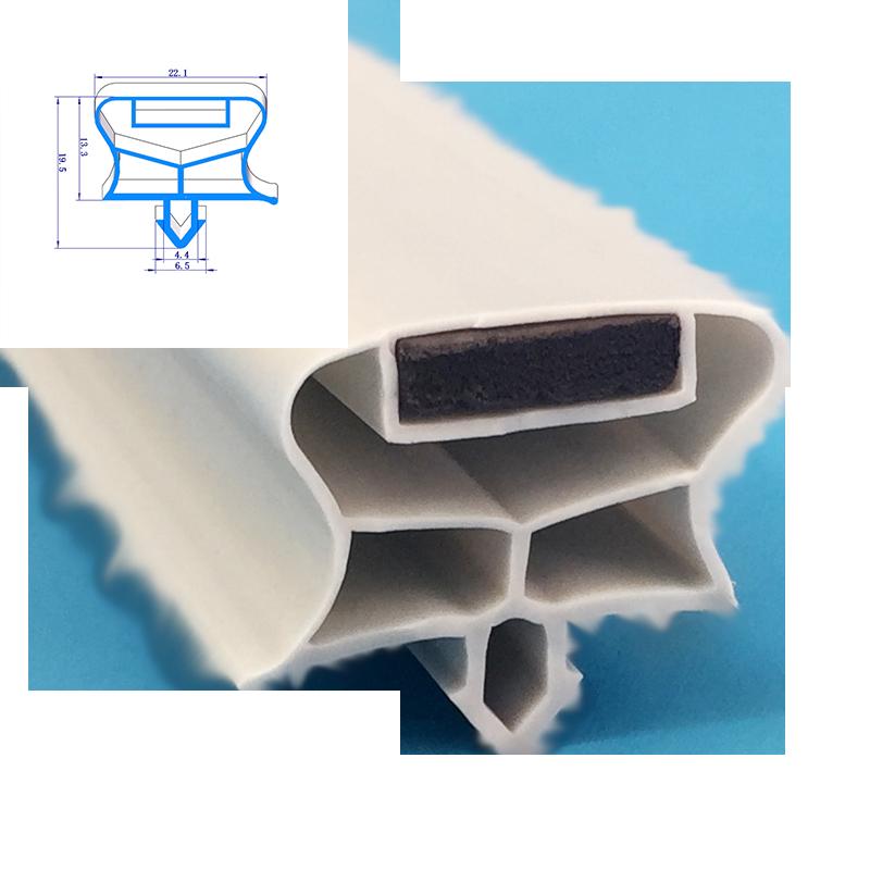 Холодильник, холодильник, ПВХ резиновые пластиковые прокладки для холодильника, дверные прокладки, экструдированный профиль