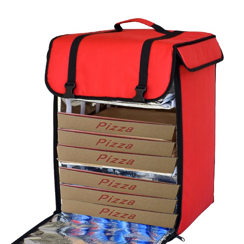 Delivery bag food Unique Design Durable Big Doubledeck Insulated Pizza Food Delivery Backpack Bag