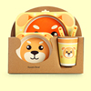 Golden Dog Dinnerware Set
