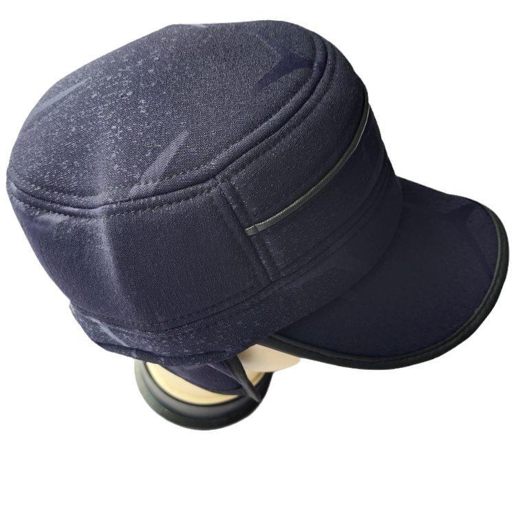 Модная широко используемая Высококачественная Мужская китайская плоская шляпа с кленовыми листьями оптом