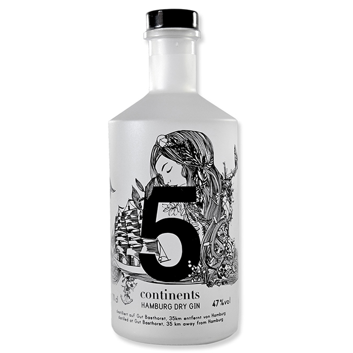 wholesale high quality certified organic citrus flavour gin bottle packging with logo stills distillery copper gin