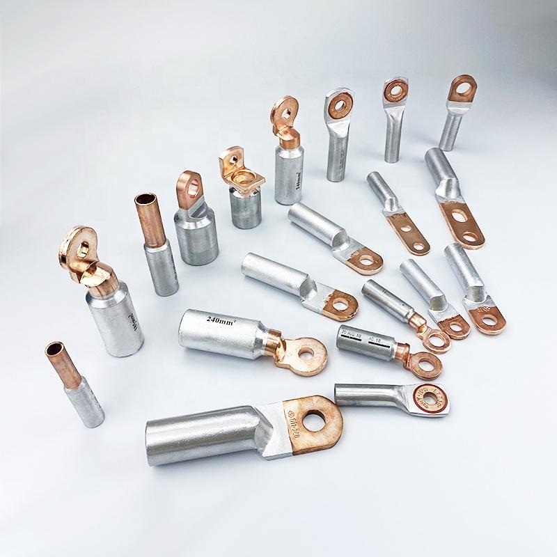 Медный Алюминиевый металлический терминал, биметаллические кабельные наконечники, соединитель, сварной биметаллический кабельный наконечник