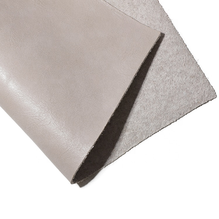 Excellent Quality Textured Recycled Faux Leather Pu Synthetic Leather