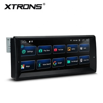 "XTRONS 10.25"" Android 10.0 quad core car radio for BMW E39 E38 with full RCA Output , car stereo"